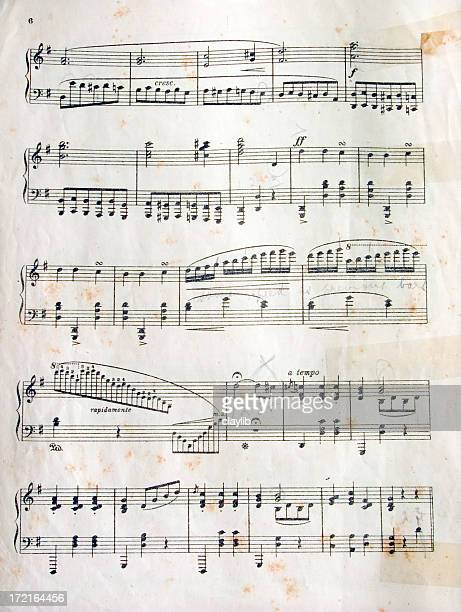 grungy 楽譜