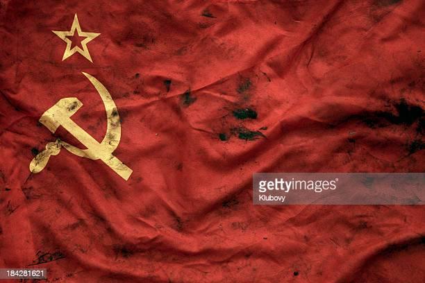 Grungy ソビエト連邦旗