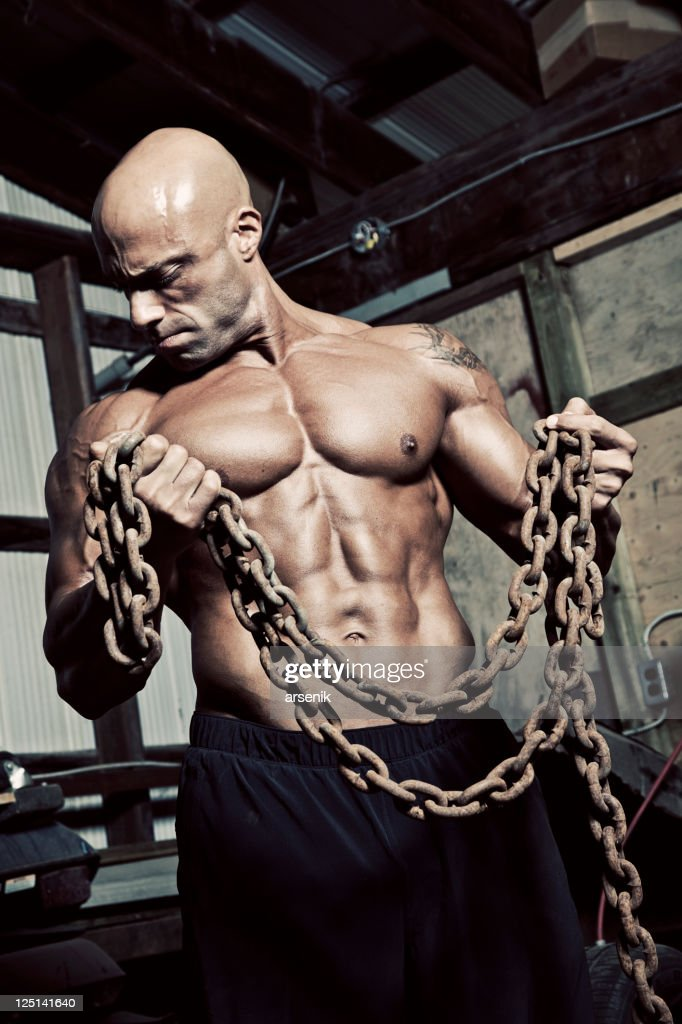 Grungy workout : Stock Photo