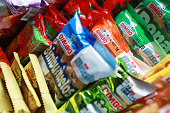 Grupo Bimbo SAB snacks are displayed for delivery in Mexico City Mexico on Thursday July 21 2016 Grupo Bimbo SAB is scheduled to release second...