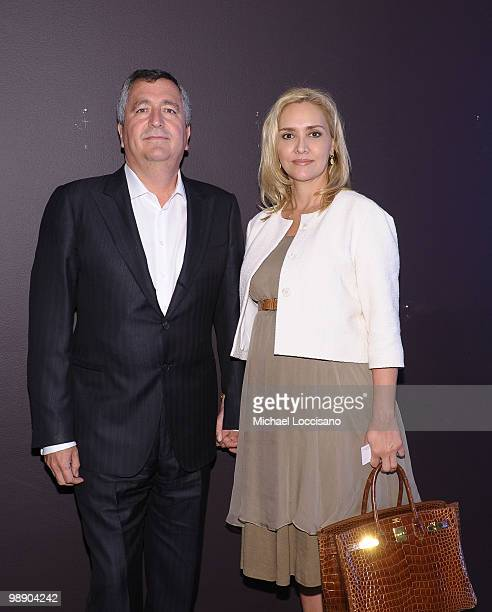Grupo Omnilife Chairman of the Board and ABC CoChair Jorge Vergara and wife Grupo Omnilife President and CEO and ABC CoChair Angélica Fuentes Téllez...
