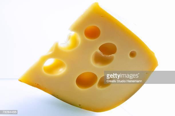 Gruyere cheese, close-up