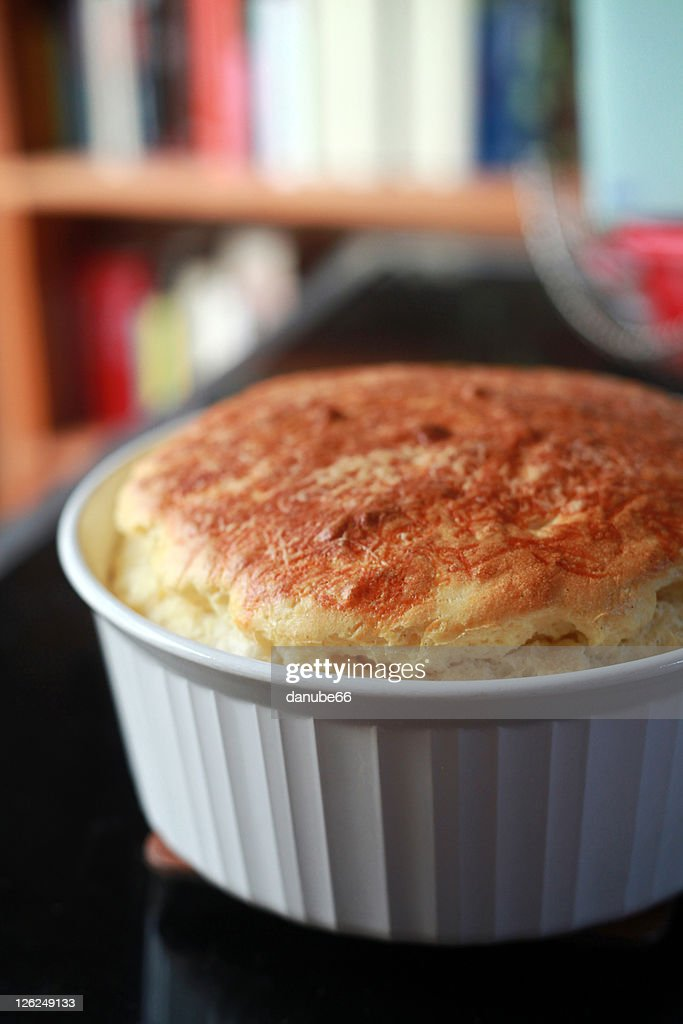Gruyere Parmesan Cheese Souffle Stock Photo | Getty Images