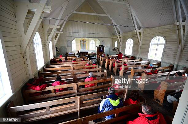 Grytviken Chapel of the former whaling base