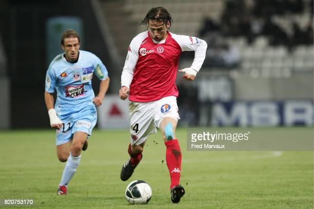 Grzegorz KRYCHOWIAK Reims / Ajaccio 10eme journee de Ligue 2 Stade Auguste Delaune Reims