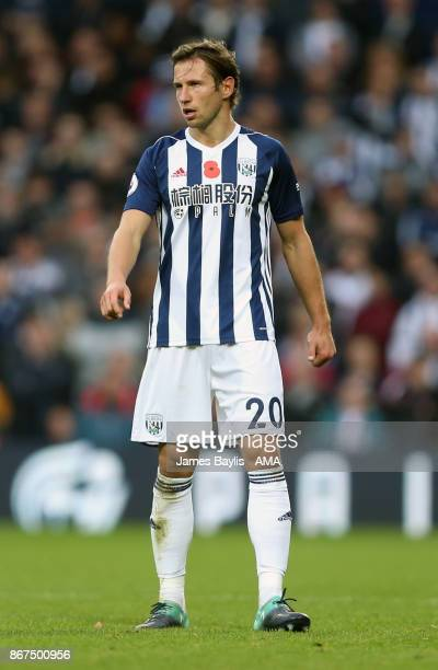 Grzegorz Krychowiak of West Bromwich Albion during the Premier League match between West Bromwich Albion and Manchester City at The Hawthorns on...