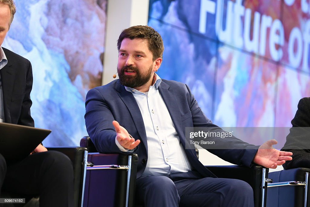 Grzegorz Stanisz (Samsung) attends Samsung: Inside The Future Of Television Panel at the Grimaldi Forum on February 11, 2016 in Monte-Carlo, Monaco.