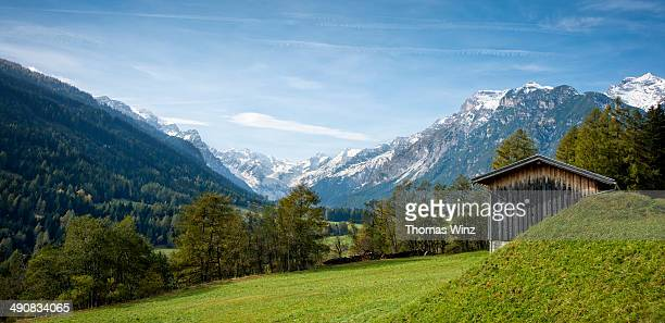 Gschnitztal Valley, Stubai Alps