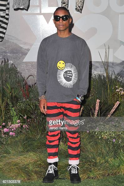 Star RAW and Pharrell Williams Reveal GStar Elwood X25 Collection on November 5 2016 in Long Beach California