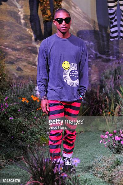 G-Star RAW and Pharrell Williams Reveal G-Star Elwood X25 Collection : News Photo