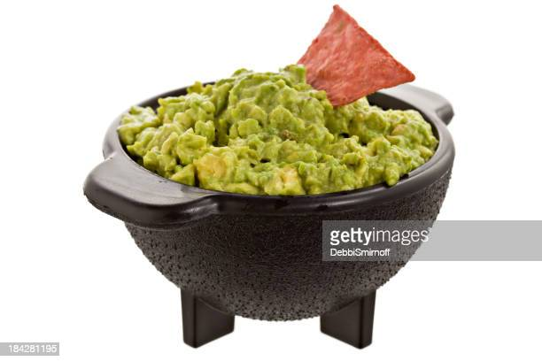 Guacamole In Molcajete Bowl