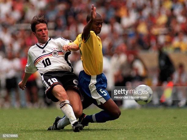Guadalajara/ DEUTSCHLAND BRASILIEN 04 Lothar MATTHAEUS/GER Flavio CONCEICAO/BRA