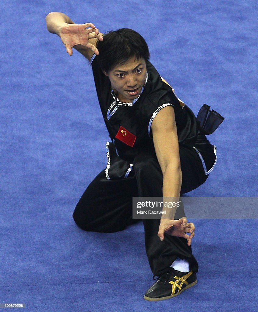 Guangyuan China  city pictures gallery : Guangyuan Huang of China competes in the Men's Nanquan section of the ...