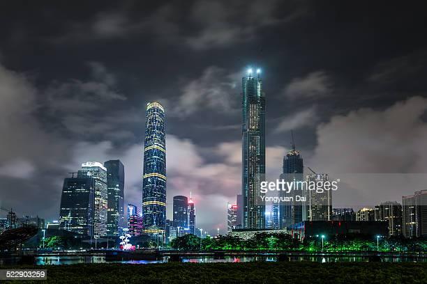 Guangzhou CBD at Night