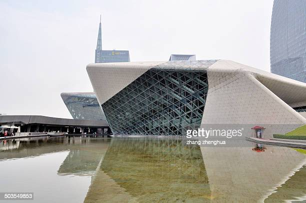 CONTENT] Guangzhou Opera House design by Zaha Hadid The Pritzker architecture prize in 2004 The Opera House opened in 2011
