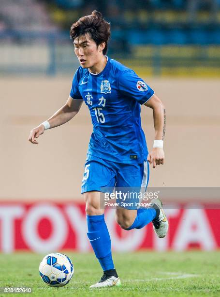 Guangzhou RF defender Jang Hyunsoo in action during the AFC Champions League 2015 Group Stage F match between Guangzhou RF vs Seongnam FC on 17 March...