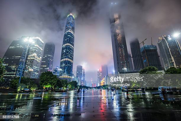 Guangzhou Skyline at Night