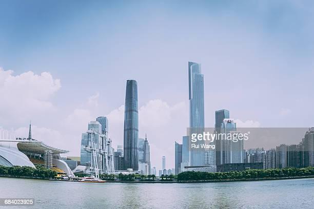 Guangzhou urban skyscrapers