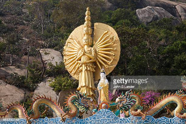 Guanyin 'Goddess of Mercy' and 1000 Arms The Buddhist legend from the Complete Tale of Guanyin and the Southern Seas vowing to never rest until she...