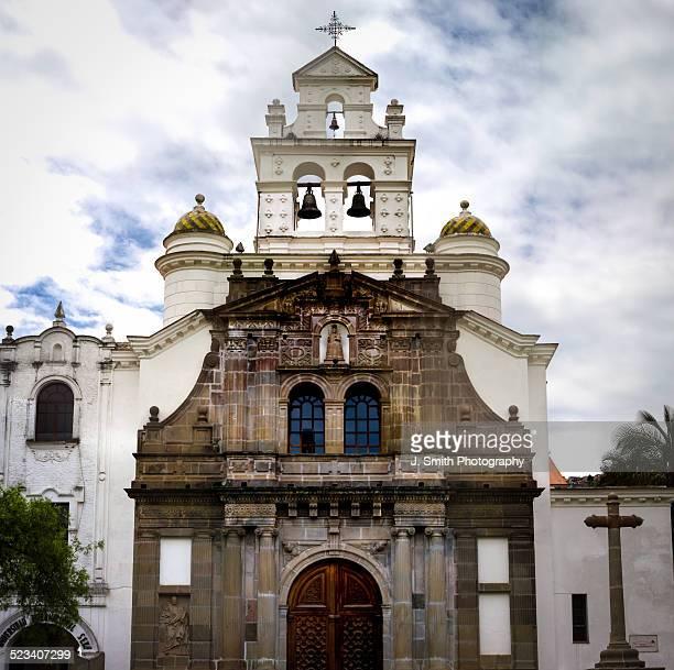 Guapulo church, Quito, Ecuador