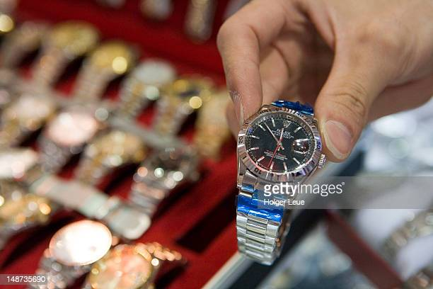 Guaranteed fake Rolex watches in special economic zone of Zuhai.