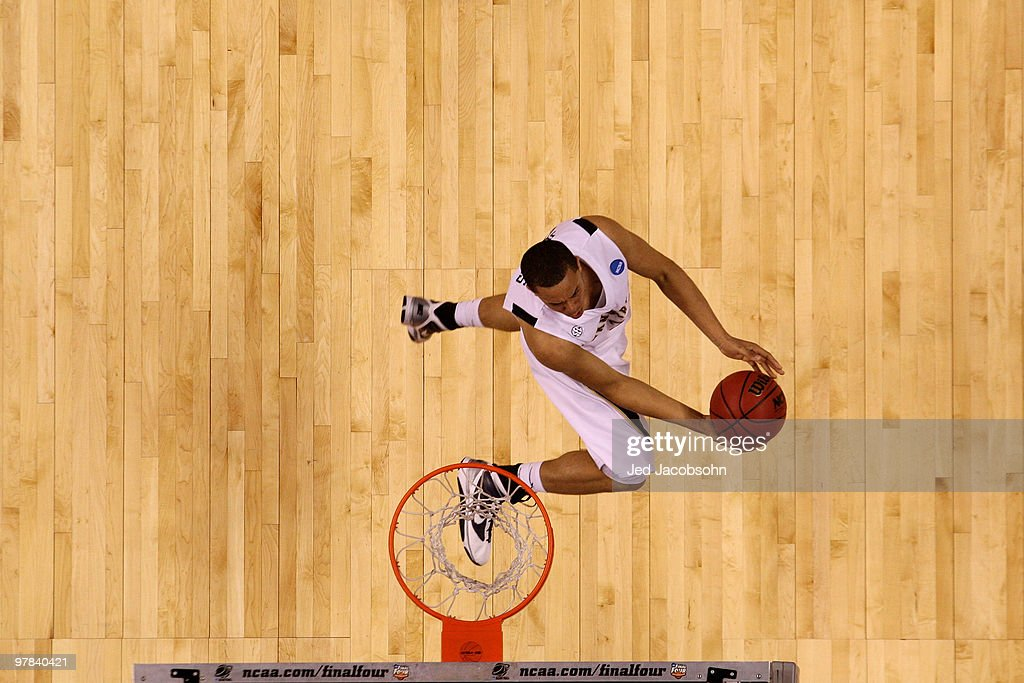 Guard John Jenkins of the Vanderbilt Commodores goes up for a shot against the Murray State Racers during the first round of the 2010 NCAA men�s...