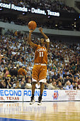 Guard TJ Ford of the Texas Longhorns goes up for a shot against the Mississippi State Bulldogs during the second round of the 2002 NCAA Division I...