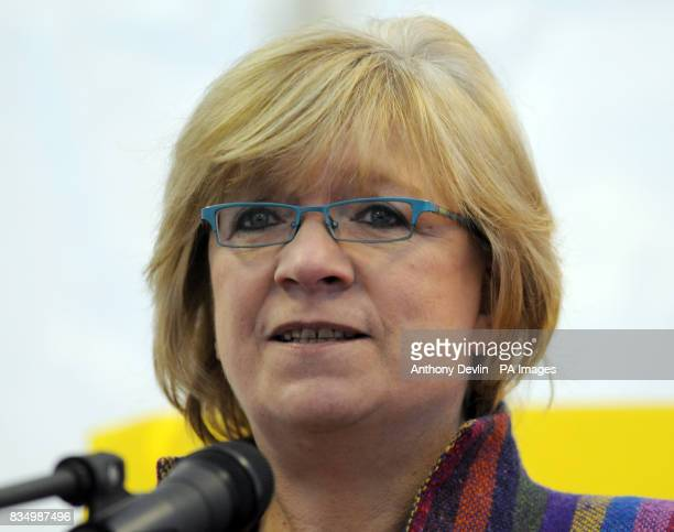 Guardian columnist Polly Toynbee speaks at an atheist campaign launch in Kensington Gardens London The UK's first ever atheist campaign is launched...