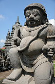 Guardian statue at Sewu Temple, Central Java