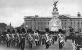 Guards in The Mall London early 20th century