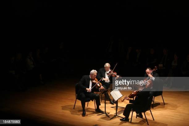 Guarneri String Quartet performing at the Metropolitan Museum on Saturday night May 16 2009This imageThe Guarneli String Quartet performing...