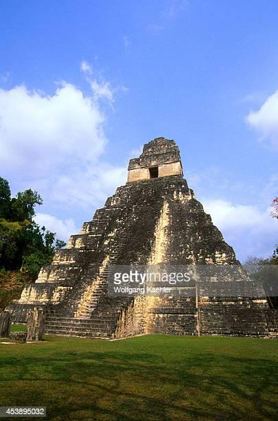 Guatemala Tikal Temple Of The Giant Jaguar