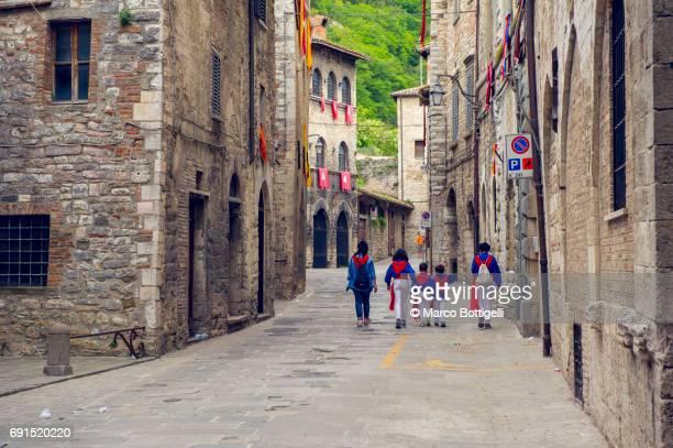 Gubbio, Italy.