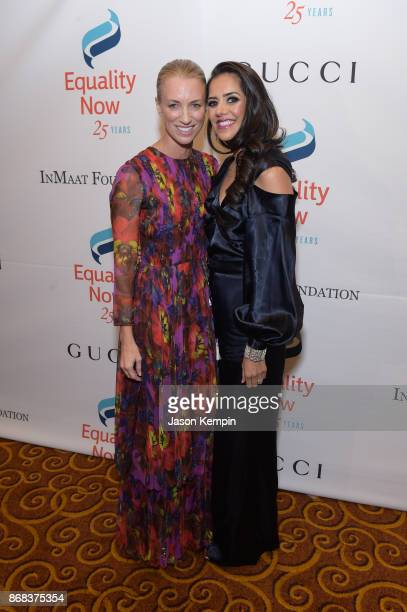Gucci America president and CEO honoree Susan Chokachi and actress Sheetal Sheth attends as Equality Now celebrates 25th Anniversary at 'Make...