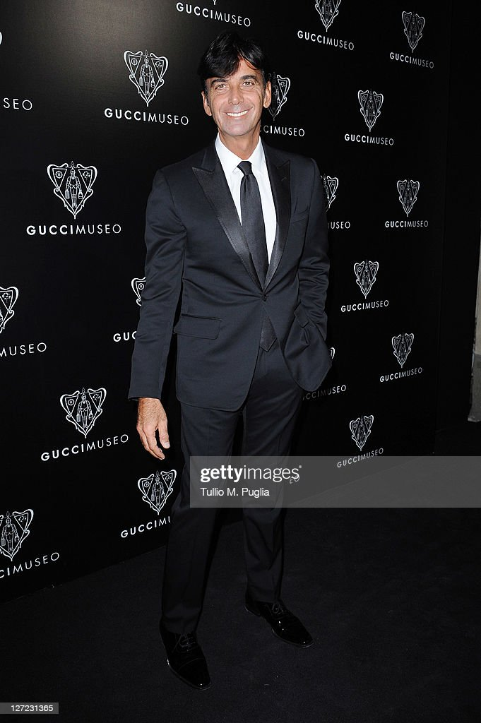 Gucci CEO Patrizio di Marco attend the Gucci Museum opening on September 26, 2011 in Florence, Italy.