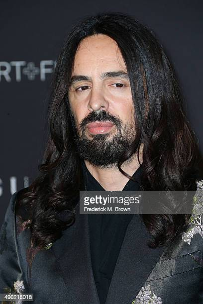 Gucci Creative Director Alessandro Michele attends LACMA 2015 ArtFilm Gala Honoring James Turrell and Alejandro G Iñárritu Presented by Gucci at...