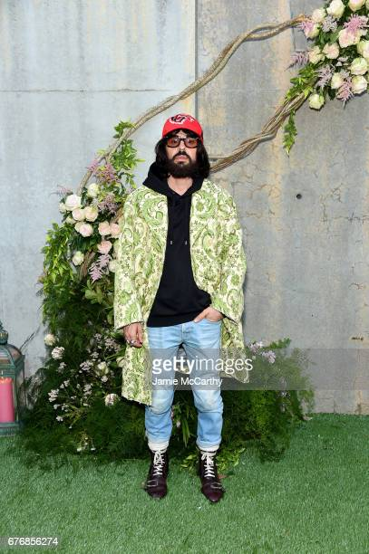 Gucci Creative Director Alessandro Michele attends the Gucci Bloom Fragrance Launch Event at MoMA PS1 on May 2 2017 in New York City