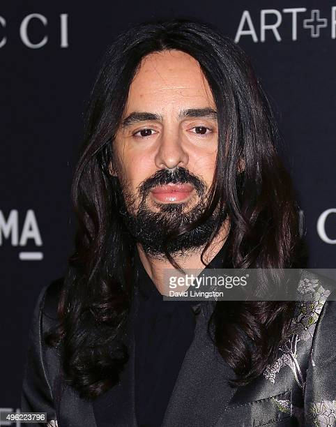 Gucci Creative Director Alessandro Michele attends the LACMA Art Film Gala honoring Alejandro G Iñárritu and James Turrell and presented by Gucci at...