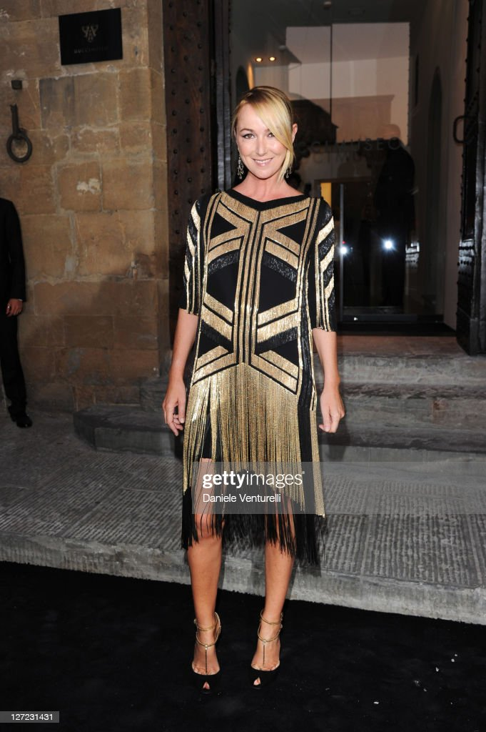 Gucci creative director Frida Giannini attends the Gucci Museum opening on September 26, 2011 in Florence, Italy.