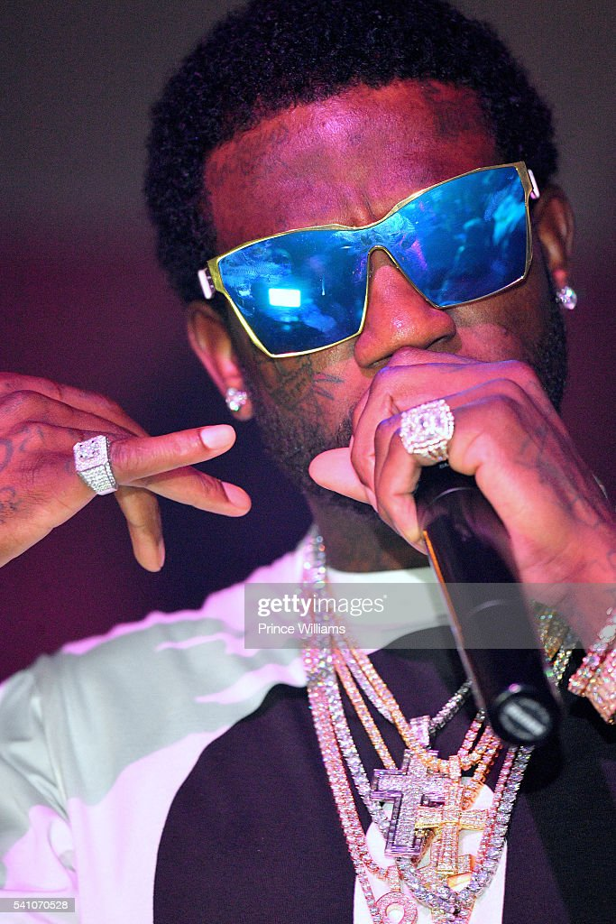 Gucci Mane attends the Welcome Home Gucci Mane Concert at The Mansion Elan on June 18, 2016 in Atlanta, Georgia.
