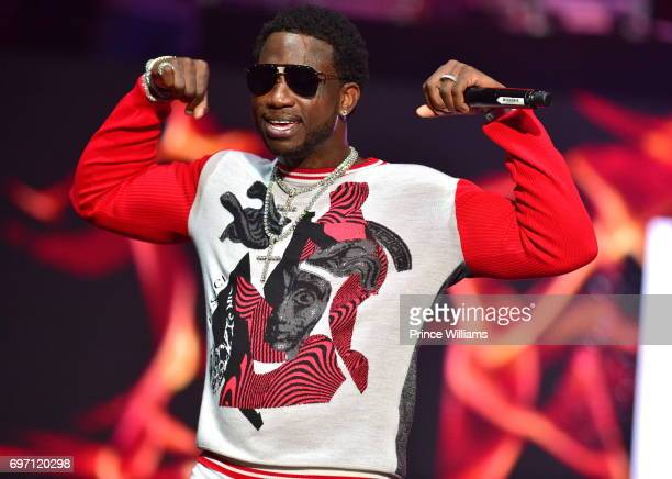 Gucci Mane performs at Birthday Bash ATL The Pop Up Edition Concert at Philips Arena on June 17 2017 in Atlanta Georgia