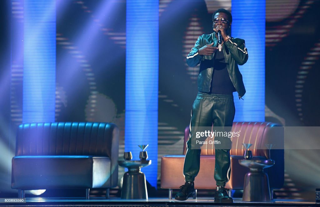 Gucci Mane performs onstage at 2017 BET Awards at Microsoft Theater on June 25, 2017 in Los Angeles, California.