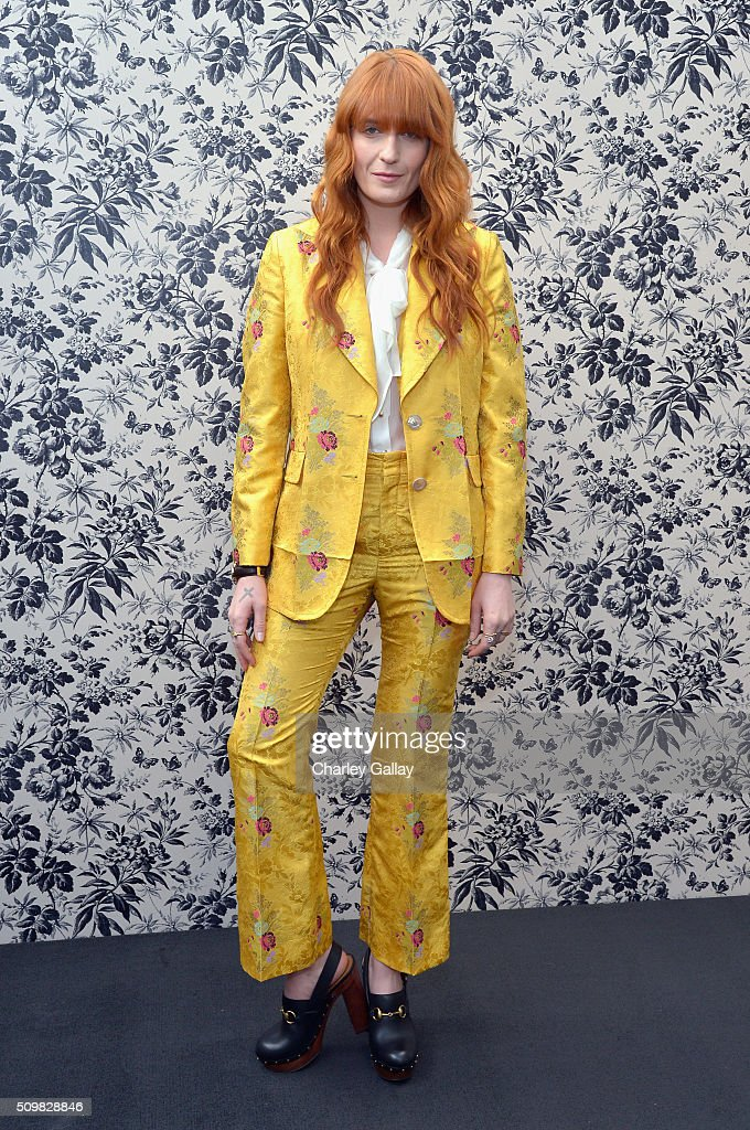 Gucci Timepieces and Jewelry announces Florence Welch as 2016 Brand Ambassador on February 12, 2016 in Los Angeles, California.