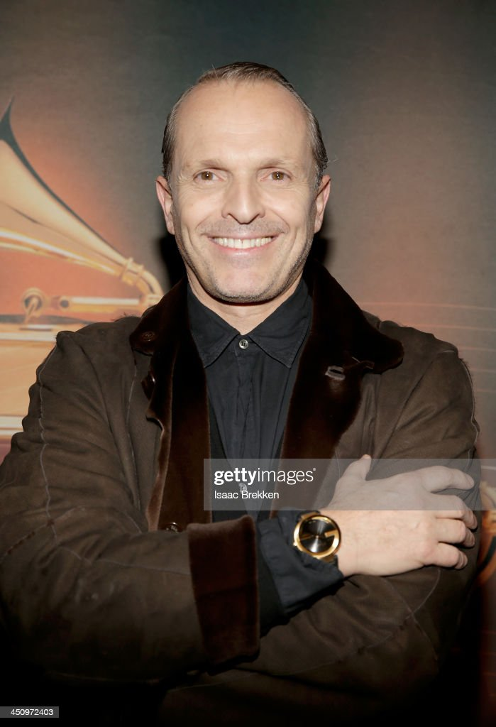 Gucci Timepieces Jewelry Honors The Latin Recording Academy Person Of The Year Miguel Bose at the Mandalay Bay Convention Center on November 19 2013...