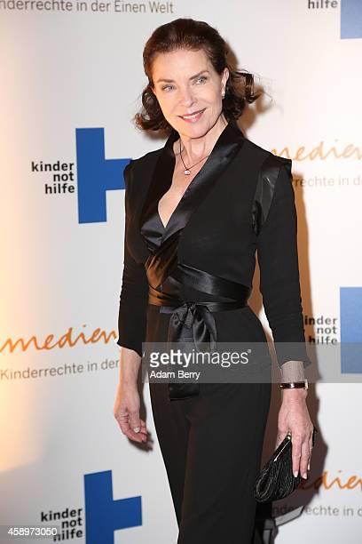 Gudrun Landgrebe arrives for the 16th Medienpreis der Kindernothilfe award ceremony on November 14 2014 in Berlin Germany