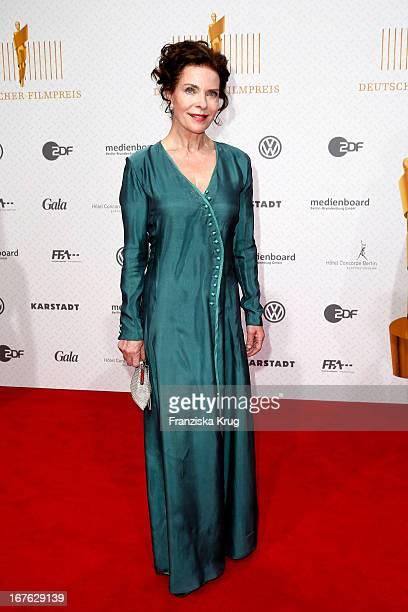 Gudrun Landgrebe attends at the Lola German Film Award 2013 at FriedrichstadtPalast on April 26 2013 in Berlin Germany