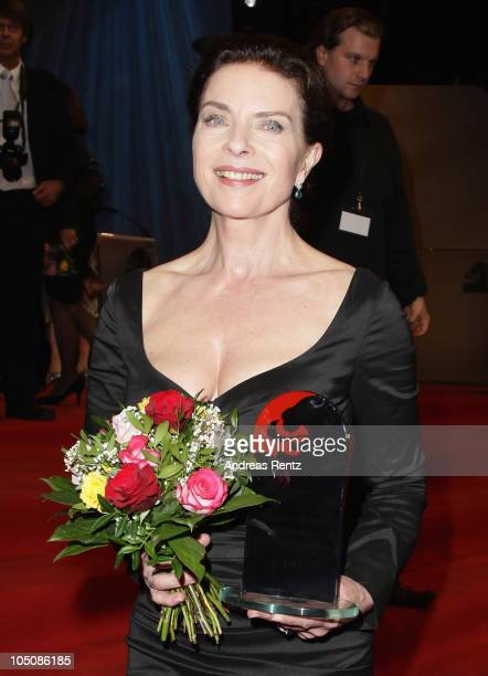Gudrun Landgrebe attends the 'Hesse Movie Award 2010' at the Alte Oper on October 8 2010 in Frankfurt am Main Germany