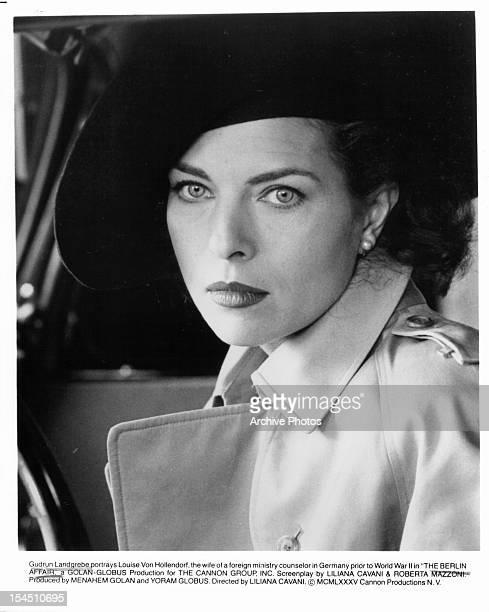Gudrun Landgrebe in a scene from the film 'The Berlin Affair' 1985