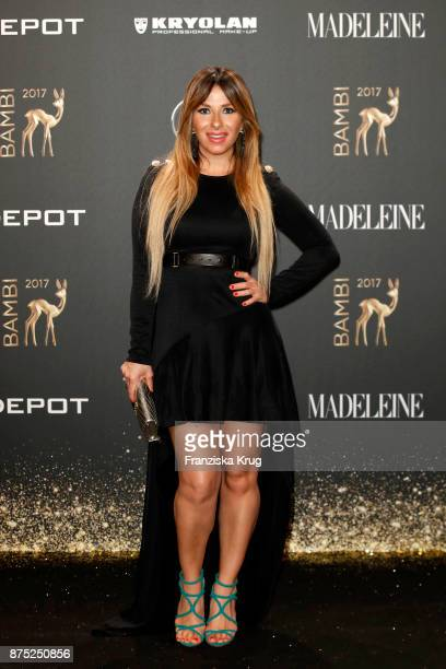 Guelcan Kamps arrives at the Bambi Awards 2017 at Stage Theater on November 16 2017 in Berlin Germany