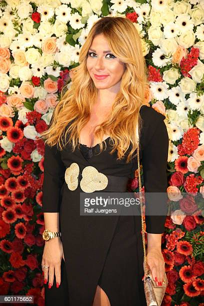 Guelcan Kamps attends a QVC event during the Vogue Fashion's Night Out on September 9 2016 in Berlin Germany